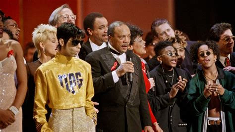 quincy jones we are the world the death of prince and david bowie has personal meaning