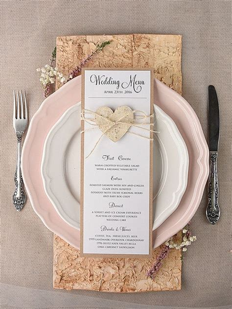 wedding table menu ideas 25 best ideas about menu cards on wedding