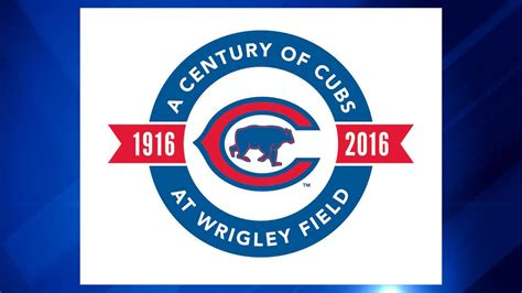 new year for cubs new cubs logo commemorates 100 years of play at wrigley