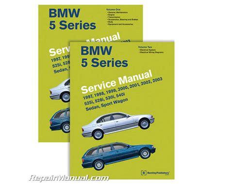 1997 2003 bmw 5 series e39 525i 528i 530i 540i sedan sport wagon service manual