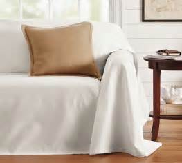 dropcloth fit slipcover twill pottery barn