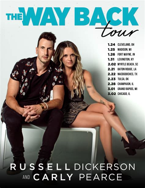 russell dickerson fan club carly pearce and russell dickerson gear up for 2019 with