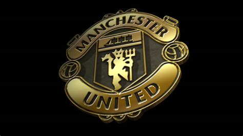 gold logo machester united ponsel harian
