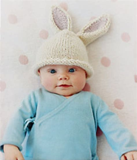 baby bunny hat knitting pattern 21 free crochet and knitting patterns for your baby s