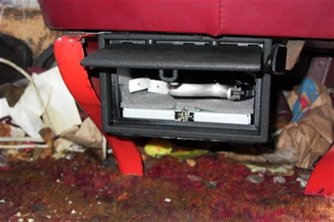 car seat gun safe looking for a the seat of the car truck box safe
