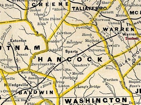 Hancock County Records Georgiainfo