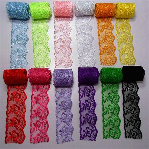 Diy Ribbon Lace Baker S Twine 18 high quality alipress 10meters lace ribbon 40mm diy embroidered net lace trim for sewing