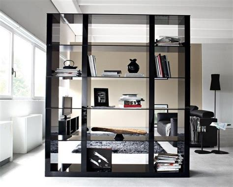 exceptional Built In Room Dividers #2: interior-ideas-furniture-modern-black-wooden-bookshelf-room-divider-with-inexpensive-room-dividers-and-room-divider-with-shelves-impressive-bookcase-room-dividers-design-ideas-to-decorate-your-home.jpg