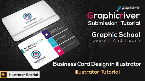 how to make a business card on illustrator how to make a business card design in illustrator