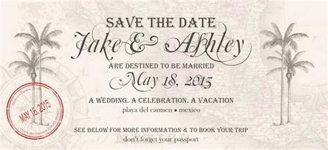 save the date destination wedding template free after 187 a wedding 187 here s a destination wedding save the date we
