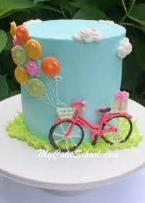 bicycle cake sylvie s birthday pinterest