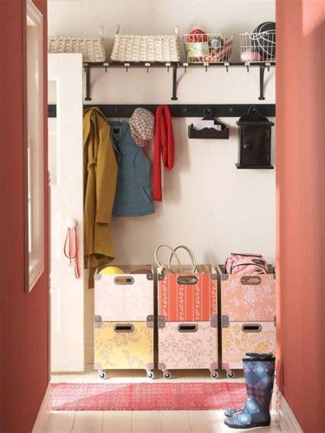 storage idea 75 clever hallway storage ideas digsdigs