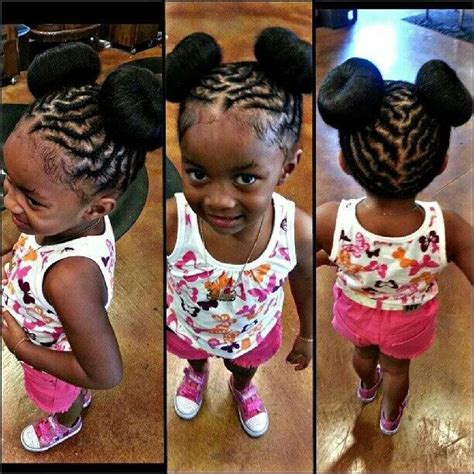 african american children plaits natural black hairstyles braid styles for little black