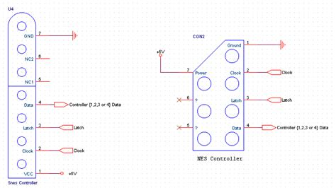 nes controller wiring diagram get free image about