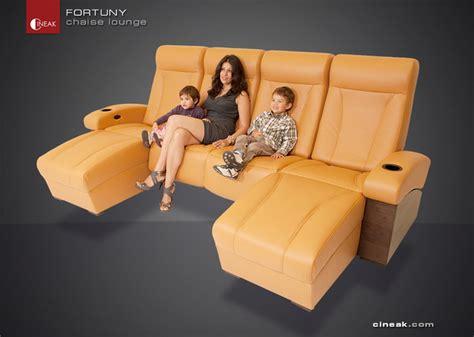 cineak fortuny luxury home theater seats modern