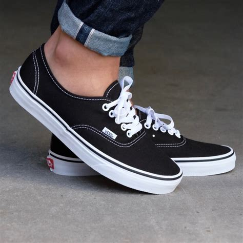 Vans Authentic 07 vans shoes authentic black sneakers poshmark