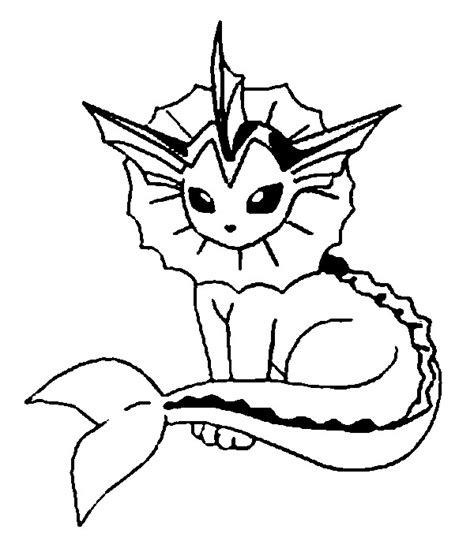 pokemon vaporeon coloring pages coloring book pikachu coloring pages pokemon vaporeon drawings pokemon