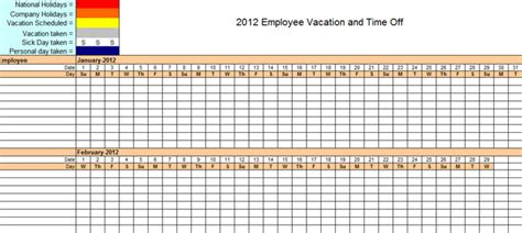 staff planner template staff planner excel template 2016 excel
