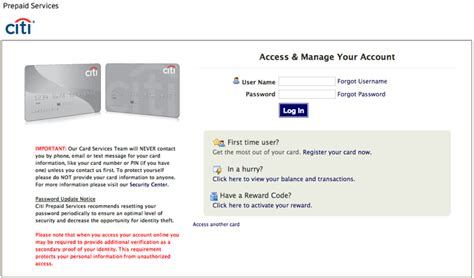 Citibank Prepaid Visa Gift Card - citi prepaid visa card balance uk infocard co