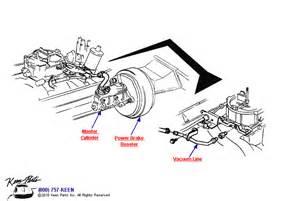 Power Brake System Diagram 1953 2017 Corvette Power Brake Vacuum Line Parts Parts