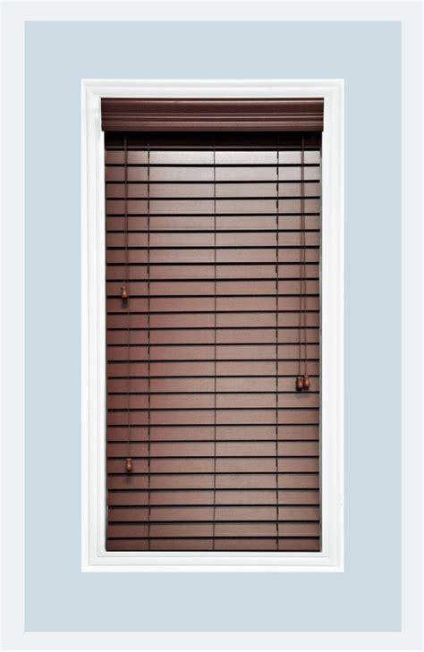 Wooden Horizontal Blinds Custom Made Chestnut 2 Quot Faux Wood Horizontal Window