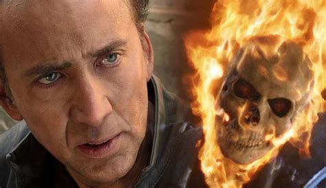 ghost film with nicolas cage nicolas cage wants to see an r rated ghost rider movie