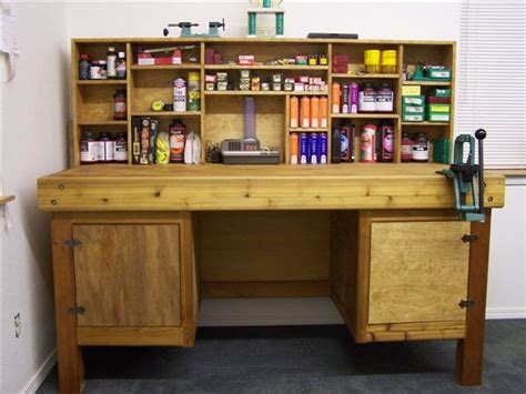 best reloading bench layout vanity bench with storage reloading bench plans reloading