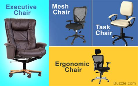 Types Of Desk Chairs by Different Types Of Office Chairs For The Best Working