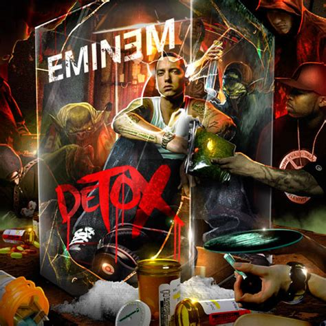 Eminem Detox detox mixtape by eminem hosted by tapemasters inc