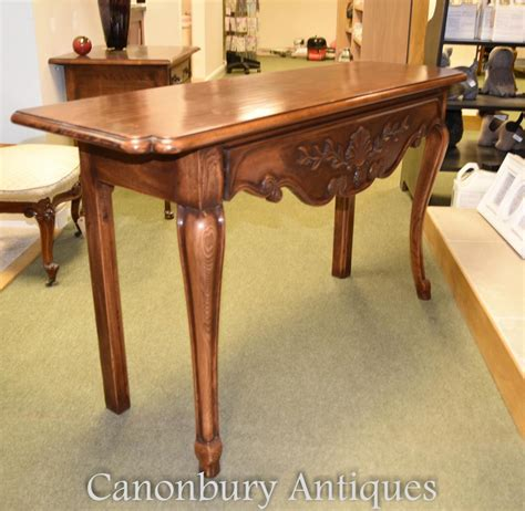 cherry wood sofa table french cherry wood console table farmhouse furniture