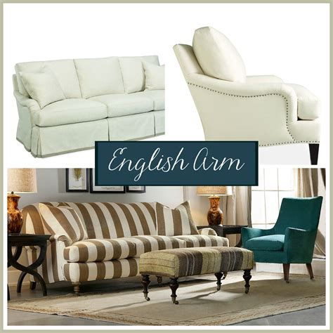 sofa styles guide sofa arm styles picking the perfect one the stated home