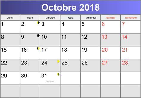 Calendrier 2018 Octobre Calendrier Octobre 2018 224 Imprimer Pdf Abc Calendrier Fr