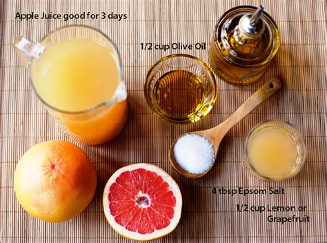 Lemon Detox Gallstones by If You Mix Grapefruit Juice And Olive Here S What It