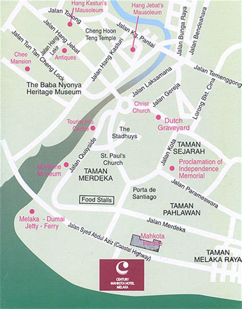 klebang resort map klebang resort map 28 images impiana klebang malacca