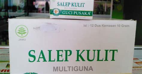 salep kulit multiguna guci pusaka mengobati penyakit kulit aneka herbal murah