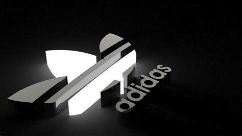 adidas wallpaper black and white adidas logo black and white 3d wallpaper