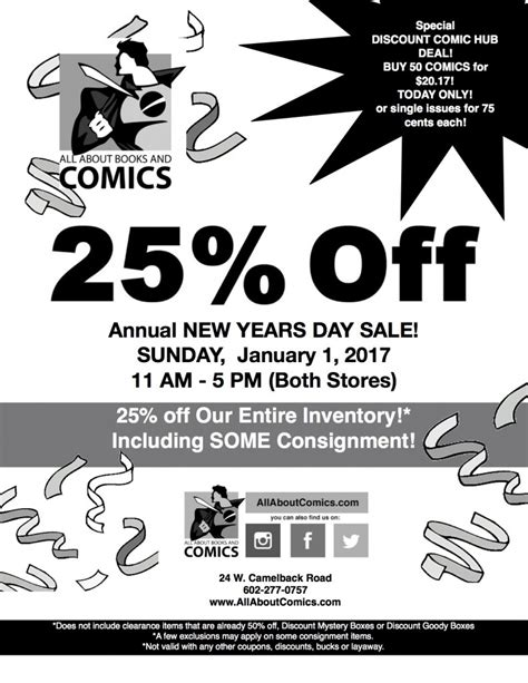 new years day sale 25 new years day sale 1 1 17 all about books and