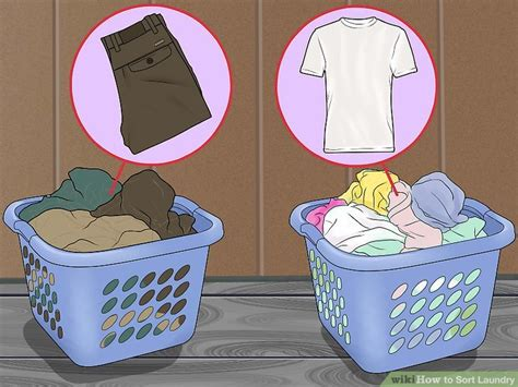How To Wash Color Clothes by How To Sort Laundry 10 Steps With Pictures Wikihow