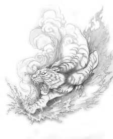 Japanese Tiger Tattoo Chest Tiger And Dragon Tattoo » Ideas Home Design