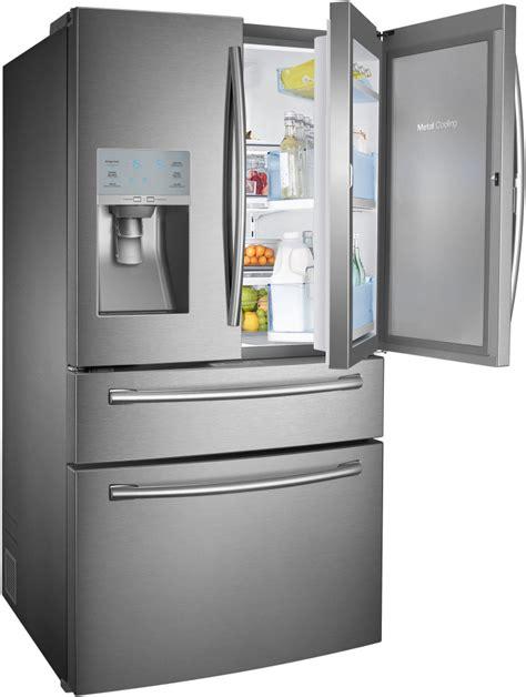 samsung fridge samsung rf30hbedbsr 36 inch door refrigerator with 29 5 cu ft capacity 5 spillproof