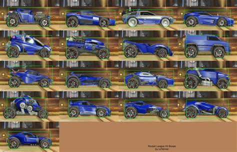 Car Types In Rocket League by What Is The Best Car To Use In Rocket League Balls Ie