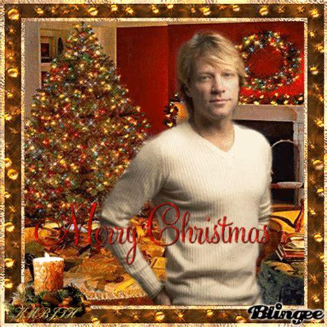 merry christmas  jon bon jovi picture  blingeecom