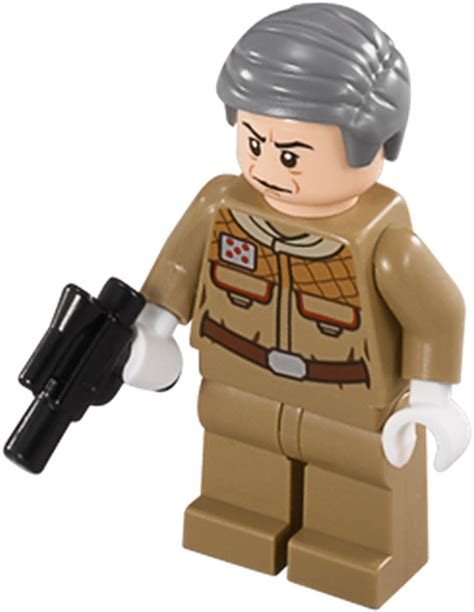 Lego Minifigure General Rieekan general rieekan brickipedia the lego wiki
