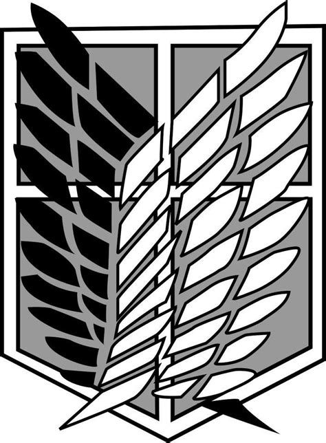 Snk Scouting Legion Emblem Frame 17 best images about think about on logos shingeki no kyojin and attack on titan
