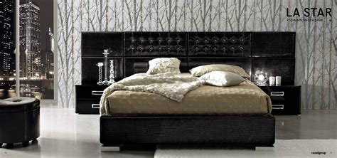 bedroom furniture modern bedrooms moon bed black