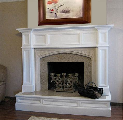 Oxford Wood Fireplace Mantel Custom Wood Mantels Wood Fireplace Surround