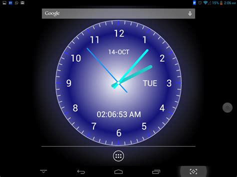 Live Wallpaper With Clock