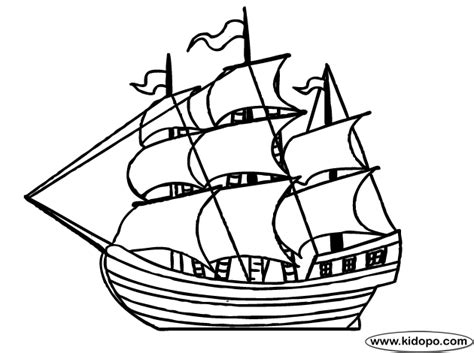 free coloring pages of sailing ships