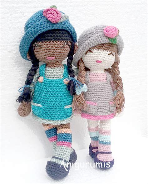 crochet pattern en español mu 241 eca amigurumi anni patr 243 n gratis en espa 241 ol