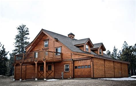 Garages With Apartments Above rustic colorado apartment barn stable style